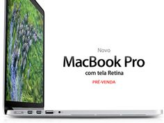 "MacBook Pro Tela Retina Apple (15.4""/i7 2.3GHz/8GB DDR3/256GB Flash/FaceTimeHD) (MC975BZ/A) (I)"