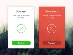 flash message errorsuccessdaily ui 011