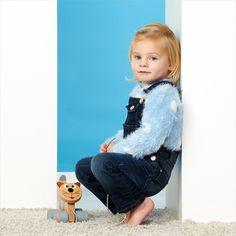 Het hoeft niet altijd roze te zijn! #blauw #poes #kinder #fotografie #kinderfotograafpatrick