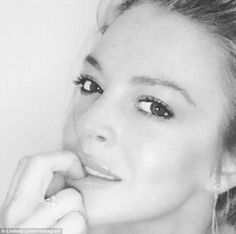 'Patiently waiting': The30-year-old actress shared a stunning selfie with a cryptic message with the possibility that she is awaiting an apology from Tarabasov