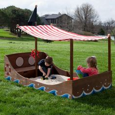 Find it at the Foundary - Classic Playtime Pirate Treasure Sandbox