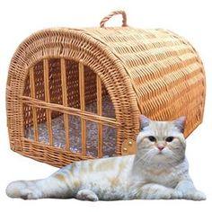 Wicker Cat Basket Home Bargains
