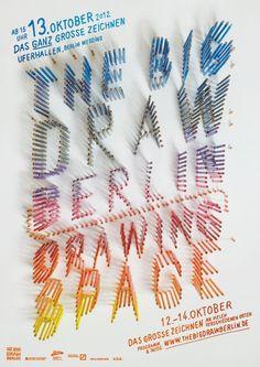 The Big Draw Berlin | Slanted - Typo Weblog und Magazin