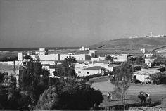 Vista parcial. Al fondo el Morabito y el Cuartel de Tiradores de Ifni.