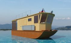 Build your own 21' houseboat DIY Plans Fun by TheBestDIYPlansShop