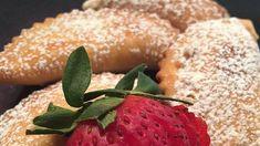 Fravioli Recipe | Allrecipes Ravioli Filling, Filled Cookies, Dry White Wine, Frying Oil, Confectioners Sugar, Original Recipe, Ricotta, Bagel