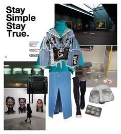 """Metropolitan museum"" by distopia on Polyvore featuring moda, Sea, New York, Balenciaga, BLK DNM, Bianca Pratt, McQ by Alexander McQueen e Romanelli"
