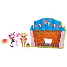 Mini Lalaloopsy Dolls 2-Pack - Charlotte and Blossom