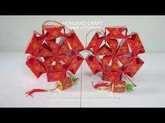 CNY TUTORIAL NO. 59 - 64-piece Hongbao Lantern - YouTube