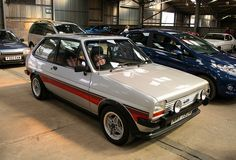 Fiesta Supersport - Mum's second car was a fiesta but black and not a Supersport