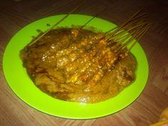 Sate Ayam - Indonesian Food