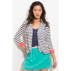 cant get enough turquoise and stripes.