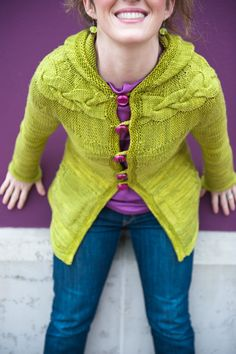 Ravelry: Jenica Hoodie pattern by Joji Locatelli