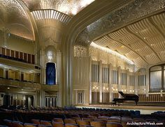 Severance Hall, Cleveland, OH - where the Cleveland orchestra plays