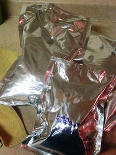 Chef Tess Bakeresse: How To Make Homemade Mylar-Packed 52 Method Convenience Meals for Camping and Beyond!