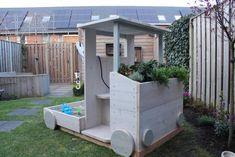 DIY: Kraanwagen-zandbak - Eigen Huis en Tuin