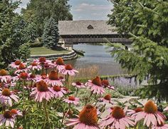 Hometown: Frankenmuth, Mi. Famous covered bridge over the Cass River.