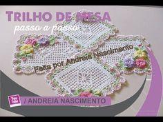 Caminho de Mesa do Jogo de Capas de Crochê Para Cadeiras /Cristina Coelho Alves - YouTube