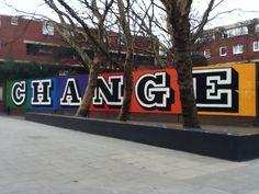 Change By Ben Eine