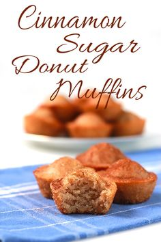 Today I'm sharing this Cinnamon Sugar Donut Muffins recipe my daughter begged and pleaded me to make. I'm so glad I gave in because this recipe is awesome!