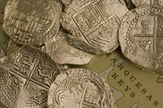 coins from the Atocha wreck site