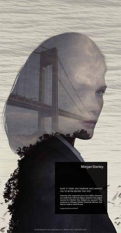 Morgan Stanley Ad: The Martin Agency, photo by Nadav Kander