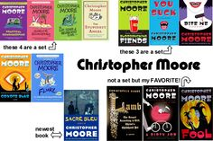Christopher Moore BEST.AUTHOR.EVER!