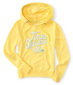 Times Square 42nd Street Popover Hoodie -