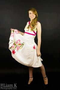 Year of the Up-Cycle Dress by Tracy McElfresh – Tracy's Sewing Studio