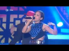 Alicia  Keys -- Girl On Fire (Wetten Dass 2012 Live German TV)