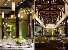 green wedding uplighitng. Mission San Luis Tallahassee, FL
