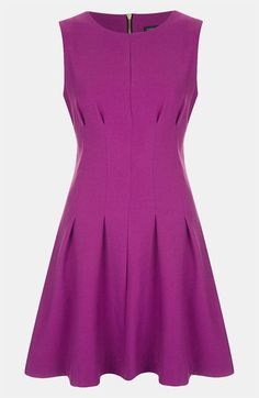 Topshop Seamed Waist Party Dress available at Nordstrom  Love the color and the seamed waist!