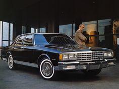 Chevrolet Caprice Classic (N69) '1977–86