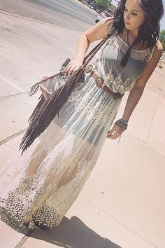 Boho Cowgirl Threads from Gypsy Pearl TX - Cowgirl Style - Fashions Country Outfits, Boho Outfits, Country Girls, Cute Outfits, Fashion Outfits, Country Fashion, Fashion Clothes, Hippie Style, Gypsy Style