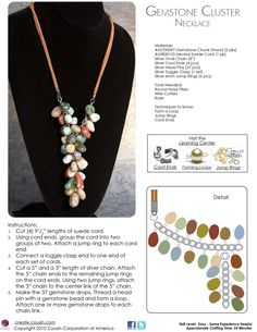 #Walmart #DIY #Jewelry Find the materials you need to create this beautiful necklace at local Walmarts in Canada.