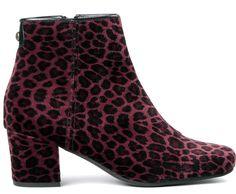 Women's Garnett Velet Velvet Heeled Ankle Boot   H London