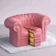 Odd shape cake lol