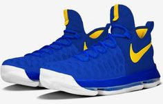 All These Warriors Options On The Nike KD 9 Are On NIKEiD For A ...