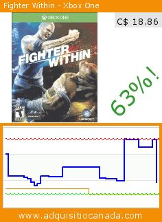 Fighter Within - Xbox One (Video Game). Drop 62.837438423645%! Current price C$ 18.86, the previous price was C$ 50.75. https://www.adquisitiocanada.com/ubi-soft/fighter-within-xbox-one