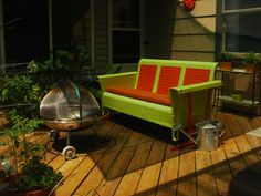 Vintage patio furniture -- 106 reader photos of porches, decks, sunrooms and outdoor spaces — Retro Renovation