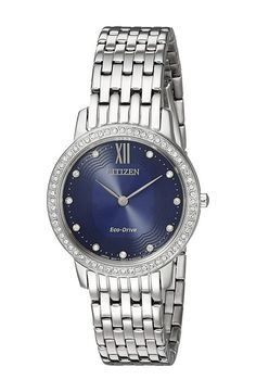 Citizen Watches EX1480-58L Eco-Drive (Silver Tone) Watches - Citizen Watches, EX1480-58L Eco-Drive, EX1480-58L, Jewelry Watches General, Watches, Watches, Jewelry, Gift - Outfit Ideas And Street Style 2017