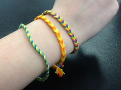 How to Create Fish Tailed Bracelets