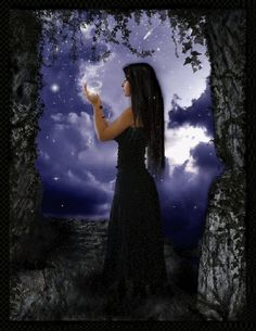 Discover & share this Fantasy GIF with everyone you know. GIPHY is how you search, share, discover, and create GIFs. Wiccan Witch, Pagan, Gifs, Dark Fantasy, Fantasy Art, Triple Goddess, Dark Gothic, Beautiful Gif, Gif Animé