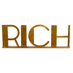 1stdibs - RICH Sign explore items from 1,700  global dealers at 1stdibs.com