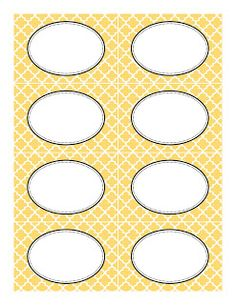 Candy Buffet Supplies: Free Printable Labels