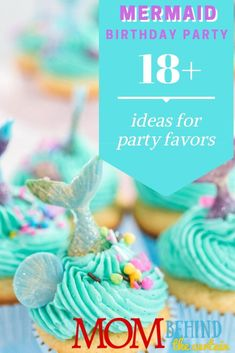 Mermaid Birthday Party Favor Ideas - Need some favor ideas for a mermaid birthday party? mermaid party favor ideas - some easy DIY you can make and some you can buy - to get you started! Mermaid Diy, Mermaid Book, Party Favors For Kids Birthday, Birthday Parties, Birthday Cakes, Mermaid Birthday, Girl Birthday, Inexpensive Party Favors, Mermaid Party Favors