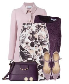 Purple by colierollers on Polyvore featuring polyvore fashion style True Decadence RED Valentino Kaliko Ivanka Trump Calvin Klein Kate Spade clothing