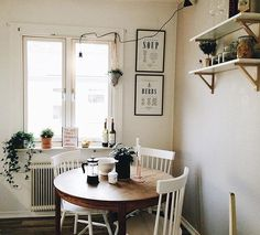 Are you searching for decorating tricks for your small dining room? You've arrived at the ideal place! A small dining room may appear comfy and give a location to enjoy a nice meal together with friends or family. It can… Continue Reading → Cozy Apartment Decor, Apartment Living, Hipster Apartment, Apartment Ideas, Small Cozy Apartment, Decorate Apartment, Micro Apartment, Small Apartment Decorating, Apartment Kitchen