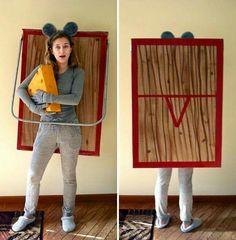 Costume homemade ideas halloween