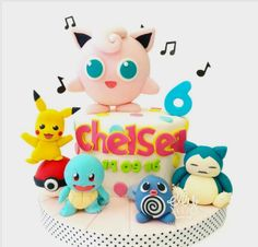 "Elly Cakes and Bakery on Instagram: ""Pokémon cake for a girl 😊 🔸🔸🔸🔸🔸🔸 Make your imagination edible! For more info and price list, please kindly contact 📬 BBM: 56C044B3 📫 Line:…"""